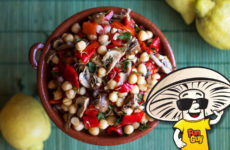 FunGuy's Roasted Red Pepper Chickpea Salad