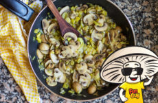 FunGuy Mushrooms and Leek Saute